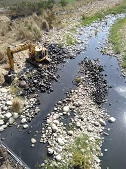 頭汴坑溪河川工程水質黑濁 中市府要求三河局改善