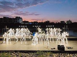 月津港燈節 水上音樂會好浪漫