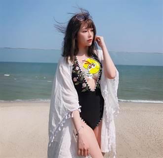 「隱乳女神」穿戰袍解放豪乳 網:心臟受不了!