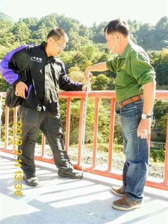 女童穿過欄杆墬河床喪命 將查飯店停車場是否違規使用