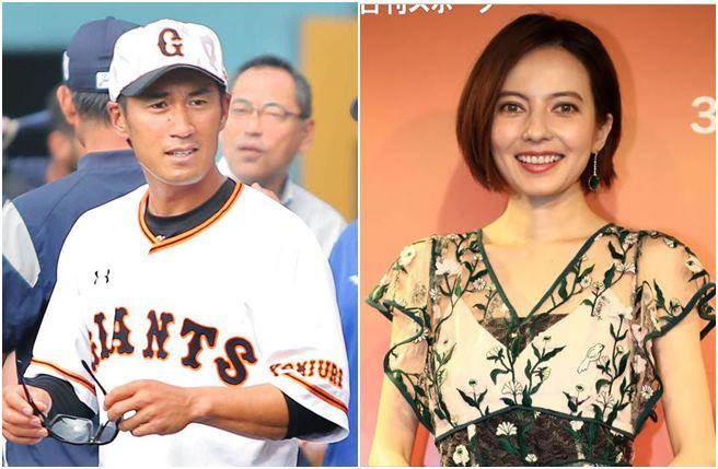 貝琪和巨人棒球隊教練片岡治大結婚。(圖/翻攝自日網)
