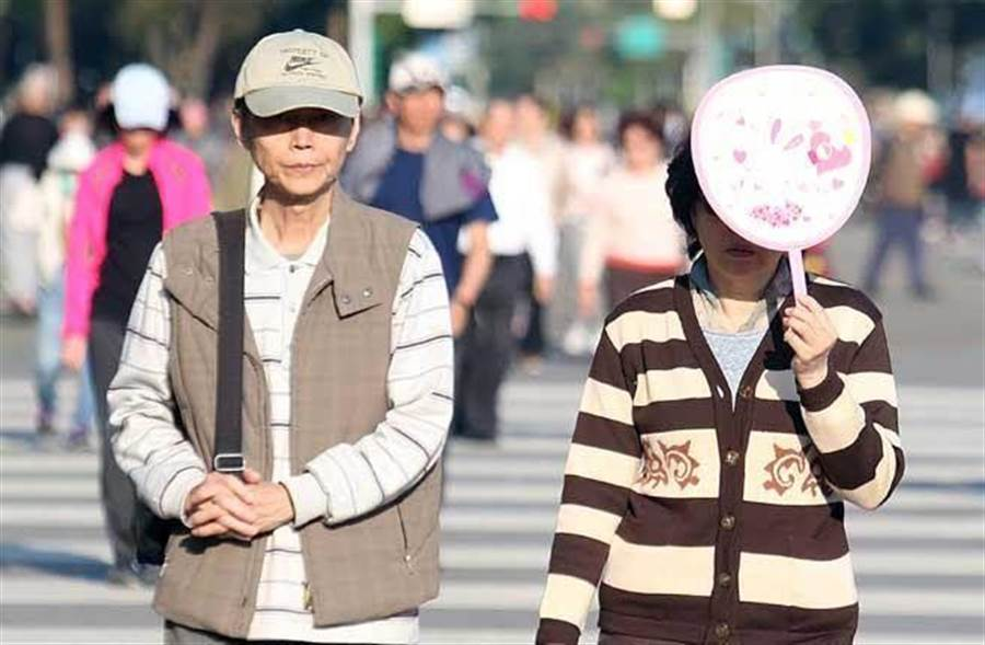 天氣多變,北臺今回溫,週末又轉涼,至少降8度。(資料照)