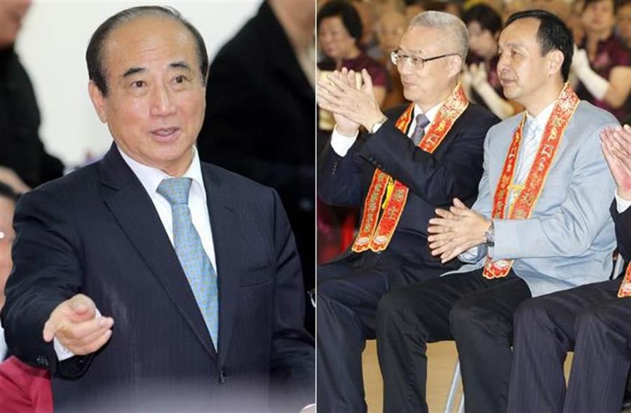 「王朱吳」被討厭民調排名,由王金平奪冠。(中時資料照片)