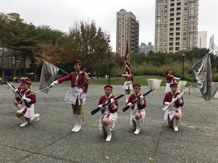 忠信學校「竹塹城元宵走街祈福巡禮」活動,學生將帶來多項精彩表演。(陳育賢攝)