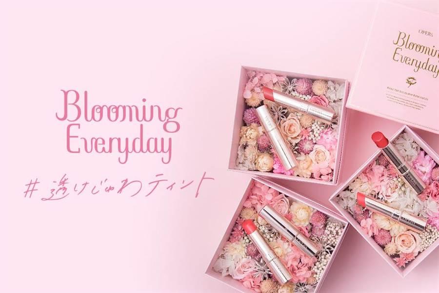 快來樂時尚粉絲團參加活動,就有機會把花盒和兩支熱賣色帶回家!(圖/品牌提供)