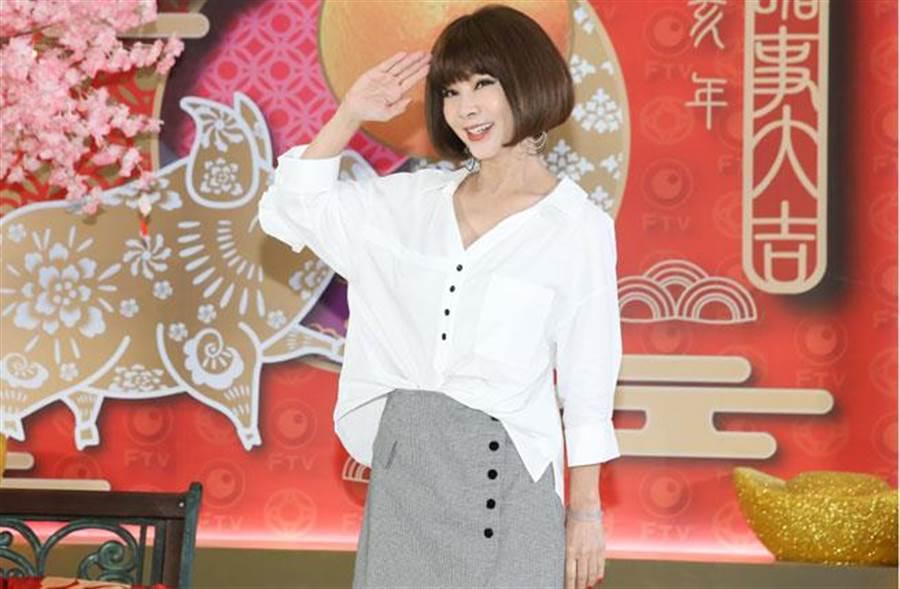 陳美鳳助理遭飆罵三字經,她因此封殺罵人的執行製作人。(中時資料照片)