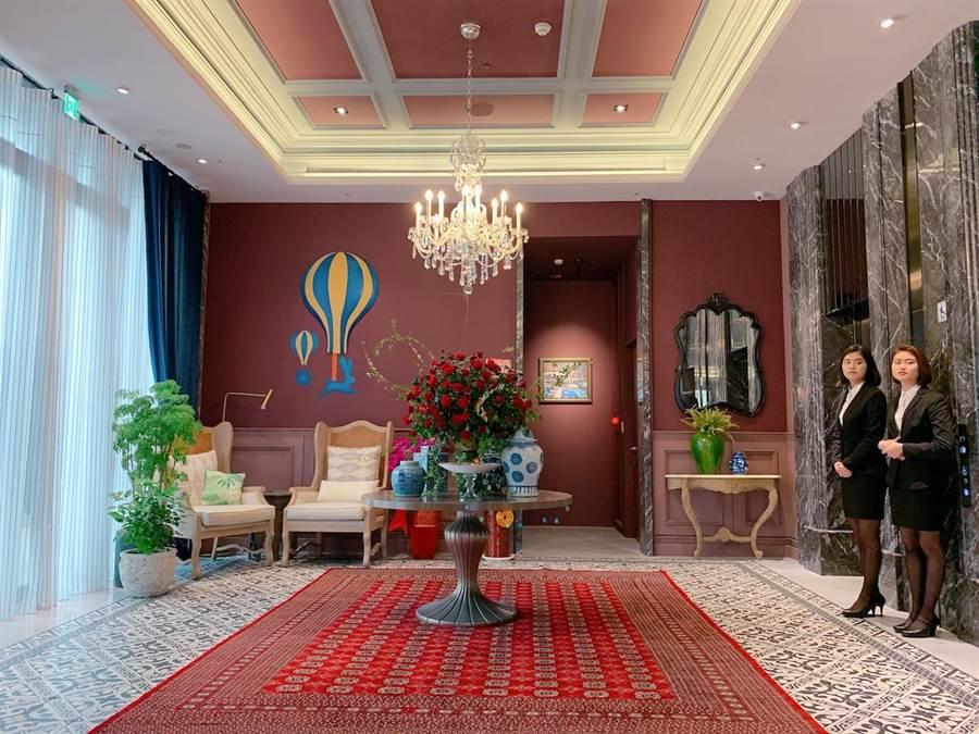 「凱旋酒店」主要客群為內湖科學園區商務旅客,目標房價3800元。(徐力剛攝)
