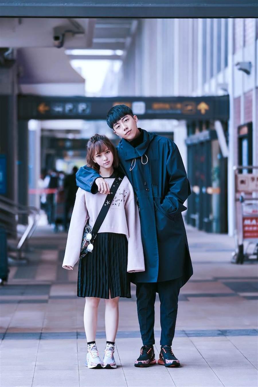 項婕如和蔡凡熙擁有「最萌身高差」。(群星瑞智提供)