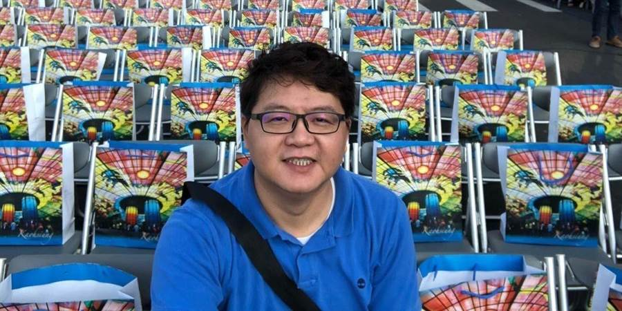 鍾源彩宣布將參與國民黨立委第一選區初選,爭取國民黨提名參選。(圖:鍾源彩提供)