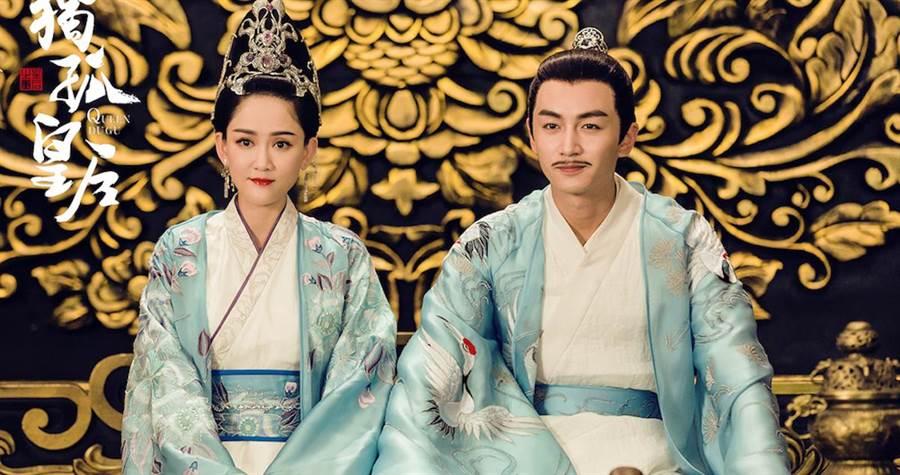 陳曉(右)和陳喬恩劇中飾演夫妻。(愛奇藝台灣站提供)
