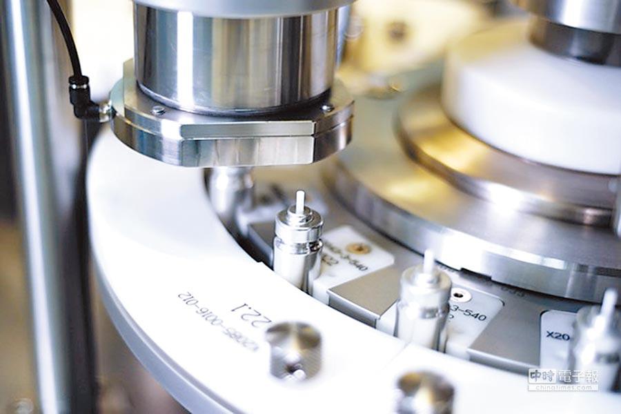 益得生技的定量噴霧吸入劑生產平台,引進德國及瑞士精密高階生產設備,為力拚國際市場做好準備。圖/業者提供