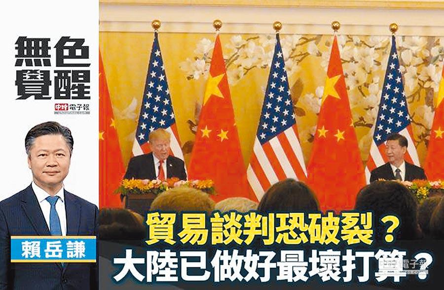 賴岳謙:貿易談判恐破裂?大陸已做好最壞打算?