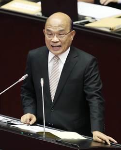 守護主權決不讓步 蘇貞昌:不容這一代被陸併吞