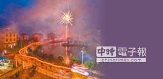 全村共舞 南昌「板凳龍」場面壯觀