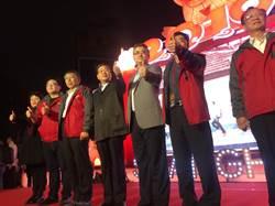 影》全台灣的燈都想看!上海台辦主任李文輝逛台北燈節喊話