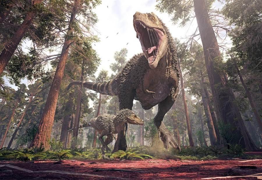 沖出大發現!澳小鎮遇洪災 9500萬年前恐龍腳印現蹤(示意圖/達志影像)