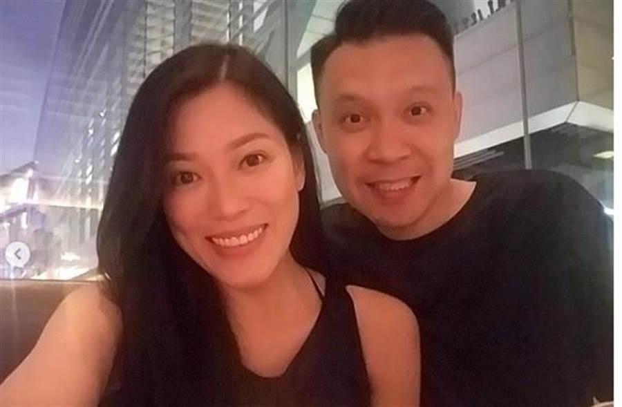 香港女星林淑惠感謝老公陪伴。(取自IG)