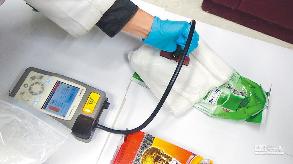 僅需要微量尿液,刑事局即可鑑定超過500項毒品。(胡欣男翻攝)