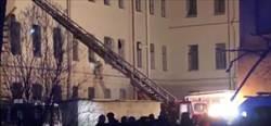 俄羅斯一大學坍塌 21人險遭活埋