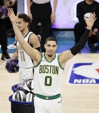 NBA》神奇Logo Shot!塔圖搶下技術挑戰賽冠軍