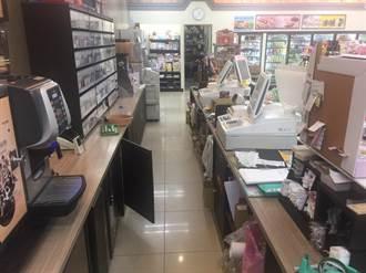 超商店員上班第一天就被搶 歹徒洗劫1分鐘後逃逸