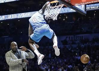 NBA》飛越歐大胖!迪亞洛驚險當上灌籃王