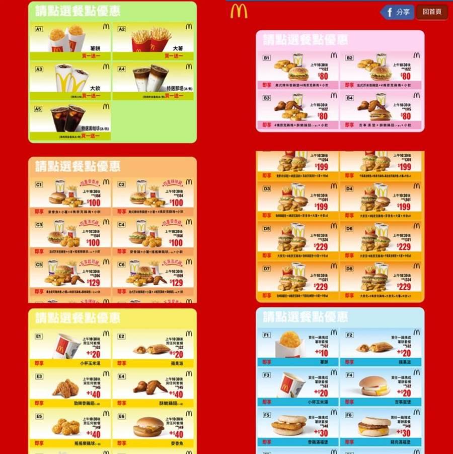 麥當勞「一個月優惠券」霧煞煞?網揭點餐關鍵(圖/翻攝自Dcard)