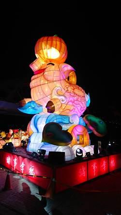 影》北港燈會啟燈 主燈「豬事幸福」搭配4大主題
