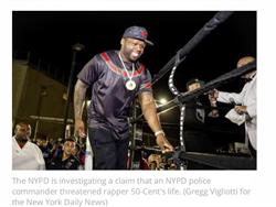 警察「下令射殺」歌手遭偵查 饒舌巨星怒斥:他還有警徽和槍!