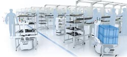 鑫達OMRON AIV移動機器人 解決產線間運送