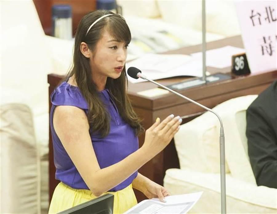 民進黨籍台北市議員許淑華。(本報資料照)