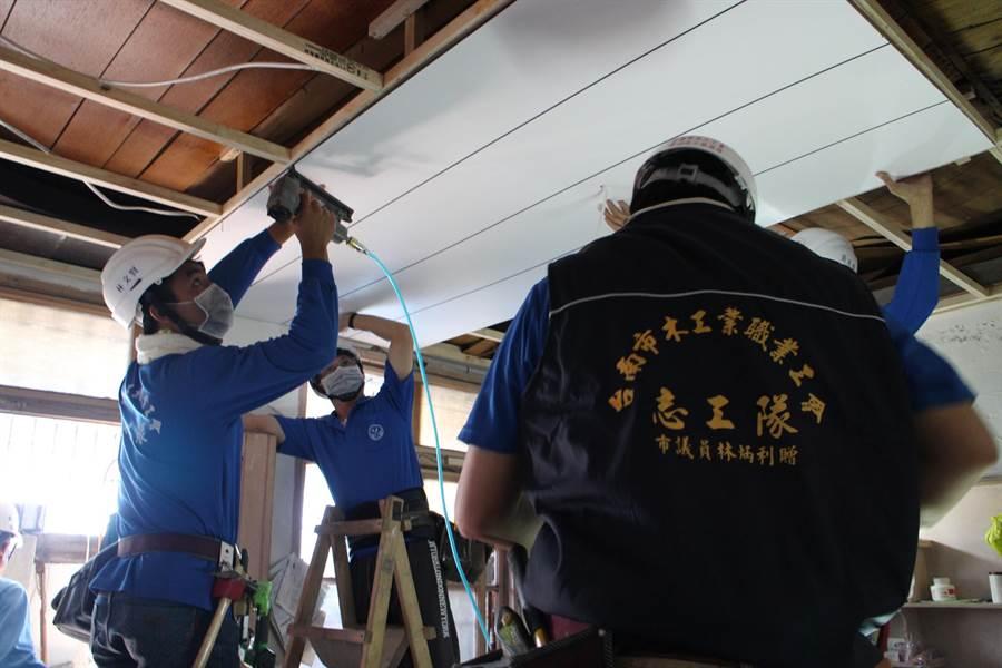 勞工局啟動「住安心、享溫馨」房屋修繕機制進行協助。(曹婷婷翻攝)