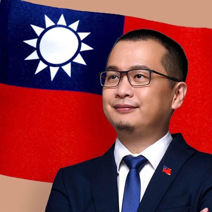國民黨台北市議員羅智強。(圖片取自羅智強臉書)