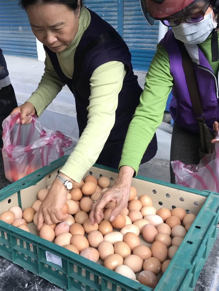 行政院主計總處公布統計,17項民生物質,雞蛋漲幅2成多最高。示意圖。(資料照片/中央社)