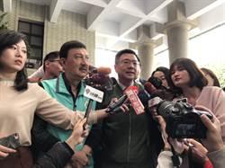 新北議會黨團交接 卓榮泰:天氣好溫度高不會有「寒流」