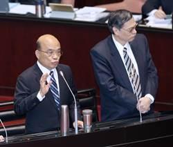 蘇貞昌:高官退將赴陸參與政治活動 應終身限制