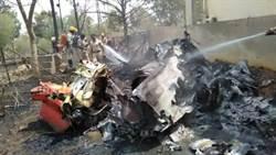 今年第4摔 印度空軍2戰機空中相撞 1死2傷