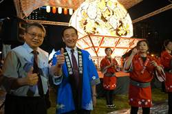 中台灣元宵燈會 日本睡魔花燈璀璨點燈