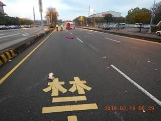 影》疑車速過快釀禍?晨運婦人遭撞飛60公尺斷肢慘死