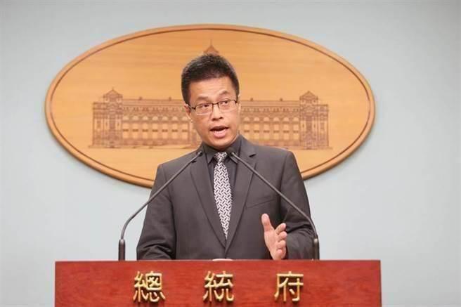 總統府發言人黃重諺。(中時資料照片)