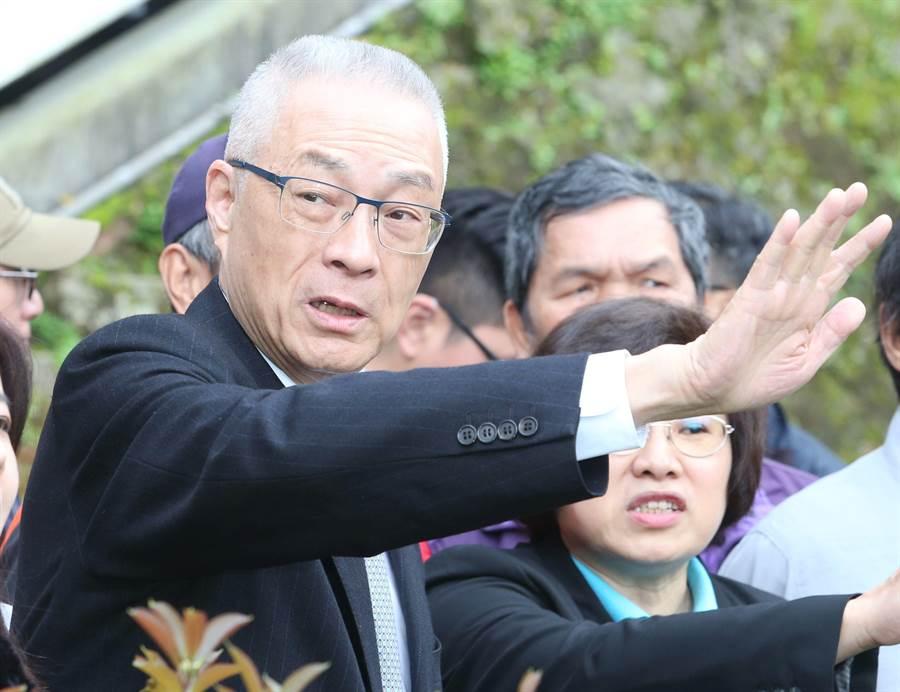 國民黨主席吳敦義。(資料照,王英豪攝)