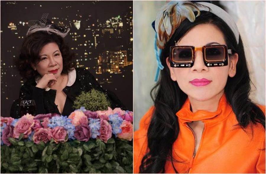 陳文茜「小妹變婆婆」 轉當網紅開新節目。(圖/奇摩提供、陳文茜微博)