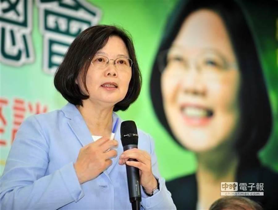台灣總統蔡英文。(中時資料照)