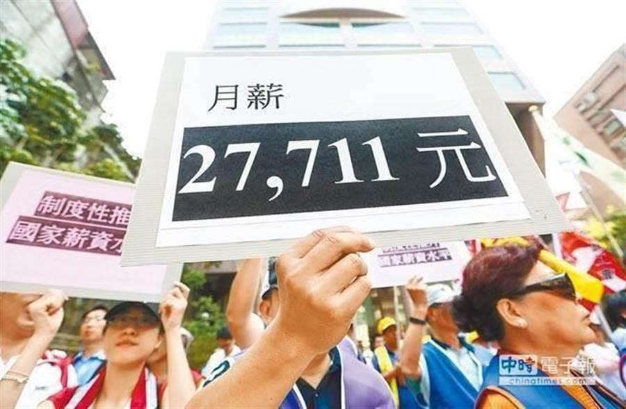 老謝認為,台灣薪資在高位等中國大陸薪資拉上來,也是台灣陷入困頓的原因之一。(資料照)