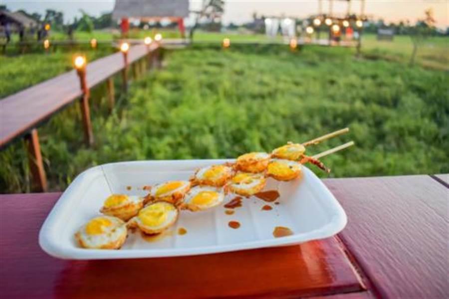 烤鳥蛋是夜市經典美食(圖片取自/達志影像)
