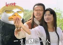 雲林菜農貼3人P圖太有梗!新神鵰俠侶笑噴網友