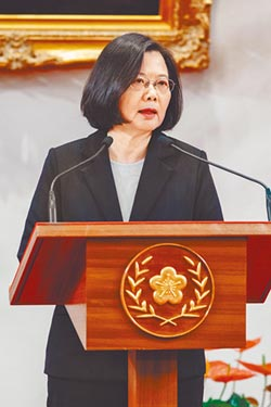 蔡築兩岸高牆 鞏固政權嚇阻交流