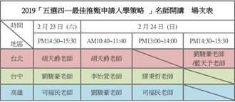 2019大學暨技職校院多元入學博覽會2/23-2/24日