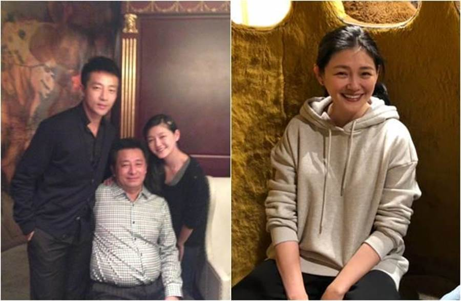 汪小菲難得曬與爸爸合照,卻有不少網友把焦點全放在凍齡的大S身上。(圖/取材自汪小菲微博)