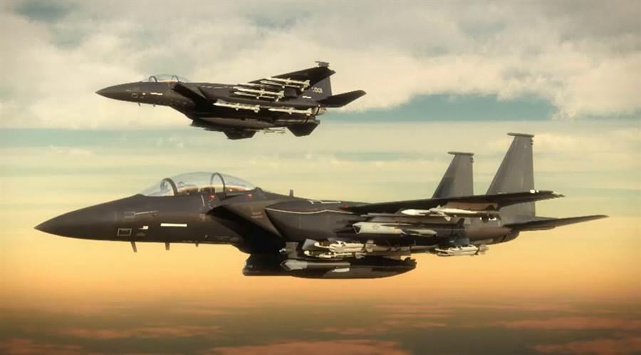 一般稱為F-15X的先進F-15新式戰機。(波音)